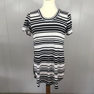 Mossimo stripe short sleeve tunic